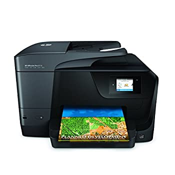 HP OfficeJet Pro 8710 Wireless All-in-One Photo Printer with Mobile Printing Instant Ink ready  M9L66A   Renewed
