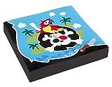 Amscan 9902122 - Servietten Pirat, 20 Stück, 33 x 33 cm, Partygeschirr, Kindergeburtstag
