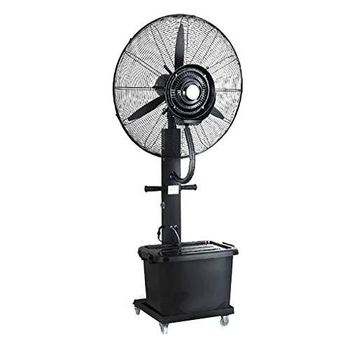 XFPINK Ventiladores De Pedestal DC Motor Ultra Silencioso Pedestal Sleeping & Baby, Eficacia EnergéTica De Alto Rendimiento Velocidad De Ventilador con Protector De Fugas, Sopladores, Neg