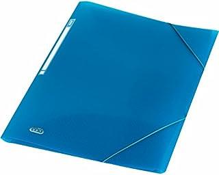 ELBA Urban Chemise à élastiques A4 en plastique Bleu transparent