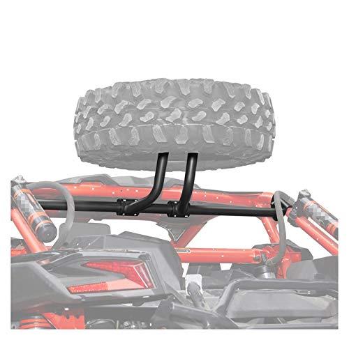 Little Oriental Tenedor de Soporte de neumáticos UTV Soporte de Soporte de Montaje de Montaje en Forma para Can-Am Maverick X3 MAX X RC/RS/MR/DS Turbo R 2017-2021