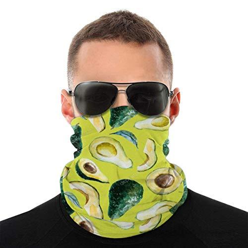 Bandeau, écharpe Bandana sans couture élastique à l'avocat aquarelle, série de chapeaux de sport de résistance aux UV pour Yoga randonnée équitation moto
