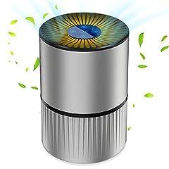 Luchtreiniger Luchtreiniger Ionisator met HEPA Combination Filter 5-traps filtratie met 99,97% filtratie prestaties met LED, Perfect tegen stof en huisdier allergenen, voor mensen met een allergie, rokers, astma *