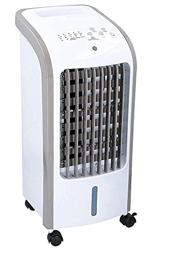 JUNG TVE26 mobiles Klimagerät mit Wasserkühlung, TÜV geprüft, inkl Timer, Mobile Klimaanlage leise, Kühlender Ventilator Mobil