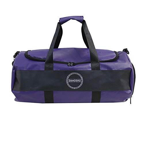 Training Handbag Sport Gym Bag Waterproof Foldable Travel Duffle Bag 20-35L With Shoes Compartment Gym Bag Travel Duffel Backpack Sports Bag Waterproof Travel (Color : Purple, Size : 20-35L)
