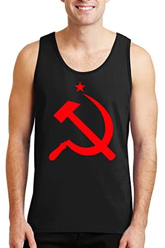 Jupsero URSS Unión Soviética Tanque para Hombre - Icono de Hoz y Martillo