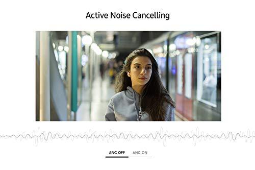 Samsung Galaxy Buds Live, Kabellose Bluetooth-Kopfhörer mit Noise Cancelling (ANC), ausdauernder Akku, Sound by AKG, komfortable Passform, Schwarz (Deutche Version)