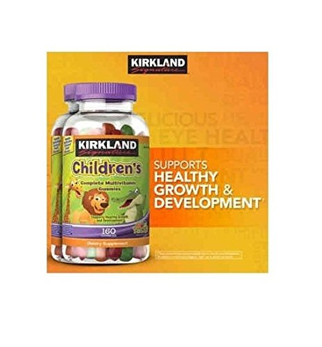 Doaaler(TM) Kirkland Signature Children's Complete Multivitamin 320 Gummies - Brand New Item