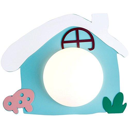 Wandbeleuchtung Wandlampe Wandleuchte Kinder-Wandleuchte kreative Kinder Jungen und Mädchen Schlafzimmer Nachttischlampe warm und schön dekorative Lichter, 35 * 28cm