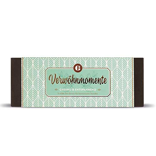 Geschenkset Tee – das ideale Geschenk für Tee-Liebhaber – Tee-Geschenkbox – Tee-Set Verwöhnmomente