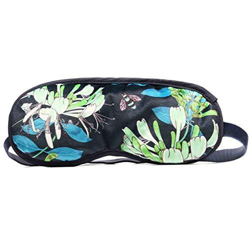 Sophinique Schlafmaske,Schlafmasken Lavendel, Samt Lavendel Augenmaske,100% lichtblockierende hlafbrille für Frauen und Männer Augenbinde zum Schlafen, für Reisen