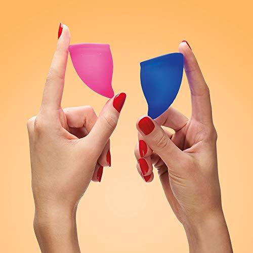FUN FACTORY FUN CUP EXPLORE KIT – Zwei Menstruationstassen für starke und schwache Blutung inkl. Tasche - 5