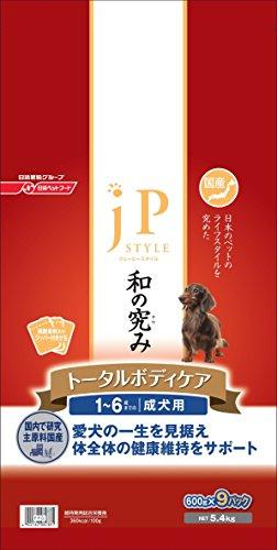 ジェーピースタイル 和の究み トータルボディケア 1~6歳までの成犬用5.4kg