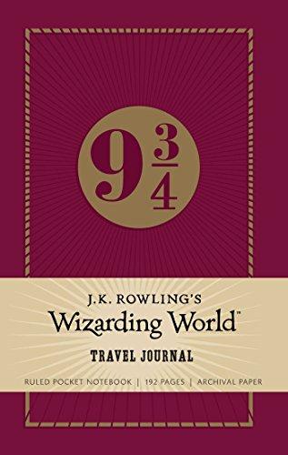 J.K. Rowling's Wizarding World: Travel Journal: Ruled Pocket Notebook (Harry Potter)