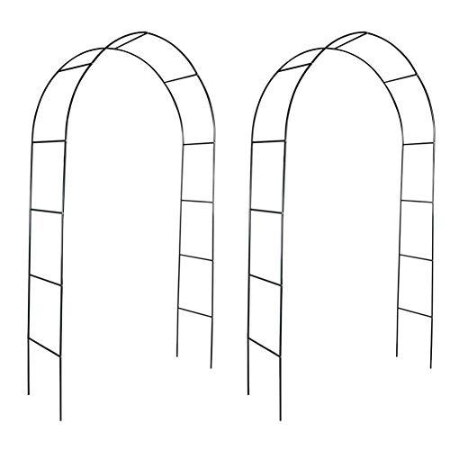 Juego de 2 Arcos para Enredaderas, Arcos de Boda Arco de Metal...