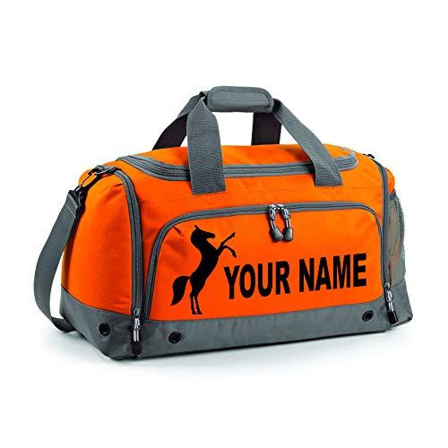 PROSPO Sporttasche, personalisierbar, Orange