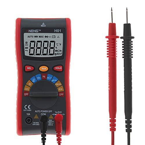 IDES Digital Multimeter NCV 4000 Zählt Hintergrundbeleuchtung AC/DC Amperemeter Voltmeter Ohm Tragbare Draht Test Power Meter mit Auto Palette