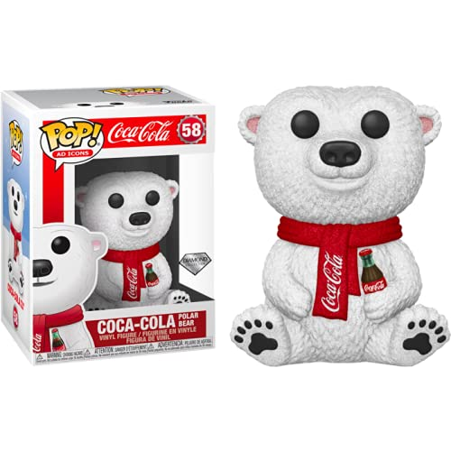 Funko Pop! Ad Icons Coca-Cola Polar Bear Diamond Exclusive