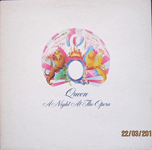 QUEEN Vinyl LP A Night At The Opera (Includes Bohemian Rhapsody) EX