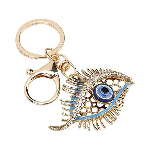 Llavero Devil'S Eye, Amplia Gama De Aplicaciones Llavero Evil Eye Hebilla De Metal Exclusiva Durable Y Resistente Al Desgaste para Decoración De Paredes para Decoración del Hogar