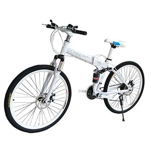 GuoEY 2020 Nuevo Modelo Moda Color Bicicleta de montaña/Bicicleta/Ciclismo, 26 Pulgadas Bicicleta de montaña Doble Freno de Disco Hombre y Mujer Coche Adulto Doble Amortiguador Estudiante Velo