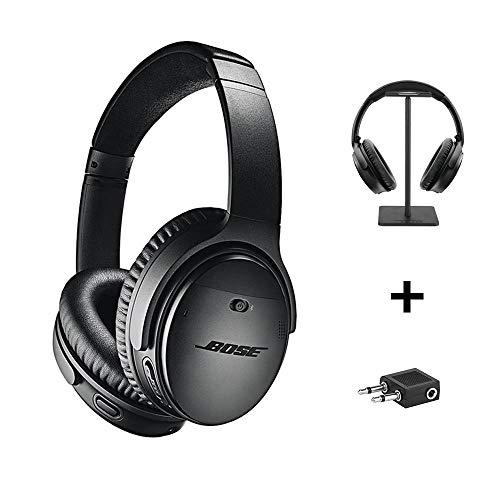 Bose QuietComfort 35 Series II Wireless Headphones, Black, Noise Cancelling...