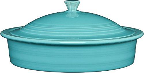 Homer Laughlin Tortilla Warmer, Turquoise
