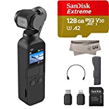 2019 DJI Osmo Pocket Handheld 3 Axis Gimbal Stabilizer with Integrated...