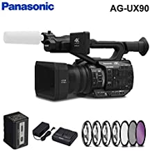 Panasonic AG-UX90 4K/HD Handheld Camcorder Accessory Kit with Filter Kit
