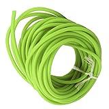 gegong tubo in lattice fionda, tubo in lattice da 32,8 piedi corda elastica 1,7 mm id / 4,5 mm od per fionda catapulta caccia all'aperto fitness (verde)