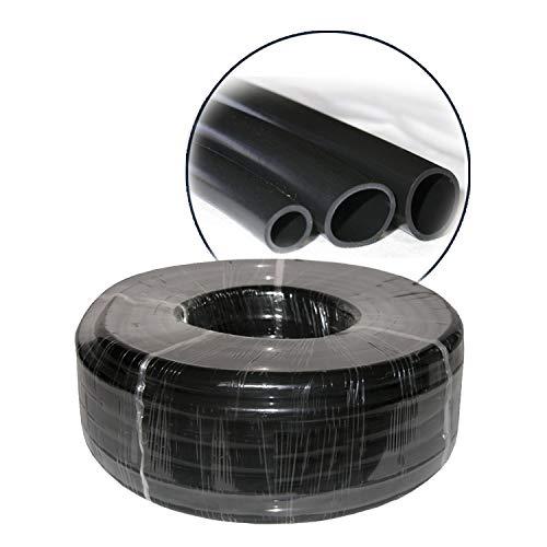 Alpine Corporation V0123PBK 1/2' I.D. x 5/8' O.D. x 1/16' Wall PVC Tubingx 100' Coil, ID x Od x