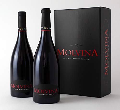 MOLVINA Fine Red Wine Premium Vintage GOLD 2015 | Satin-smooth, red berry |...