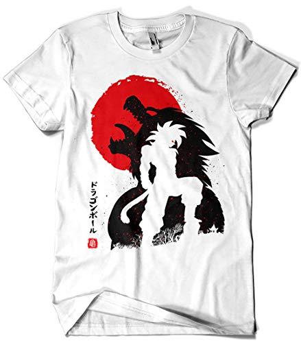 Camisetas La Colmena 4022-Ozaru Goku ssj4 - Dragon Ball (albertocubatas)