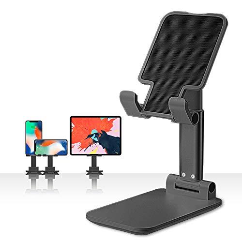 BoYata Handy Ständer, Verstellbarer Handy Halterung mit Mehreren Winkeln, Tablet Halter kompatibel für alle 4