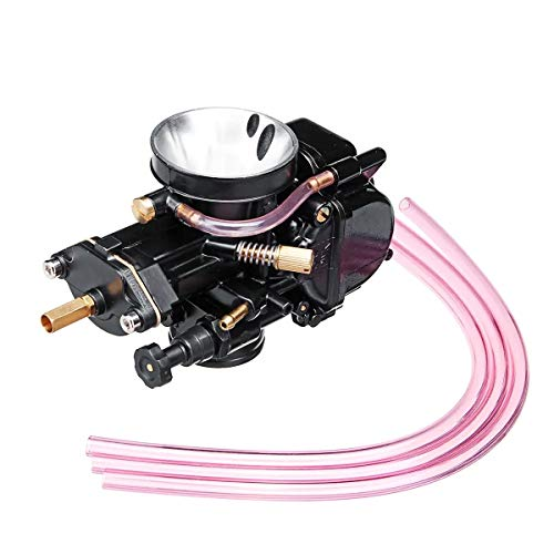Carburador Carb Pit Bike Por 30mm Keihin PWK Carb motocicleta de repuesto Carburador Racing Parte +3 Mangueras ATV Quad ATV Dirtbike pitbike