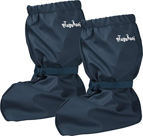 Playshoes Baby , leichte Krabbel-Schuhe für Jungen und Mädchen, mit Playshoes-Motiv, Blau (marine 11), M