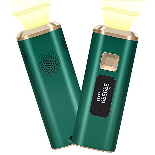 Larte脱毛器 レーザー 永久脱毛 IPL光脱毛器 99万回照射 光美容器 5段階 家庭用 自動/手動モード 美肌機能...