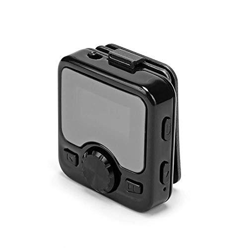 CFTGB Mini-voice-recorder, MP3-muziekspeler, bluetooth-radio, verborgen HD-audio, 8 GB OLED-scherm, ruisonderdrukking voor het opnemen van leessessessies