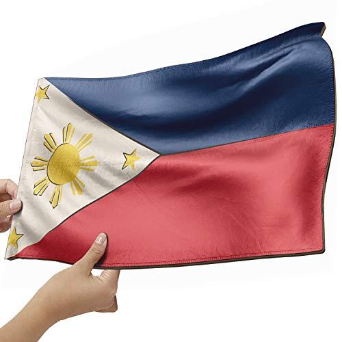 Philipinen Flagge als Lampe aus Holz - schenke deine individuelle Philipinen Fahne - kreativer Dekoartikel aus Echtholz