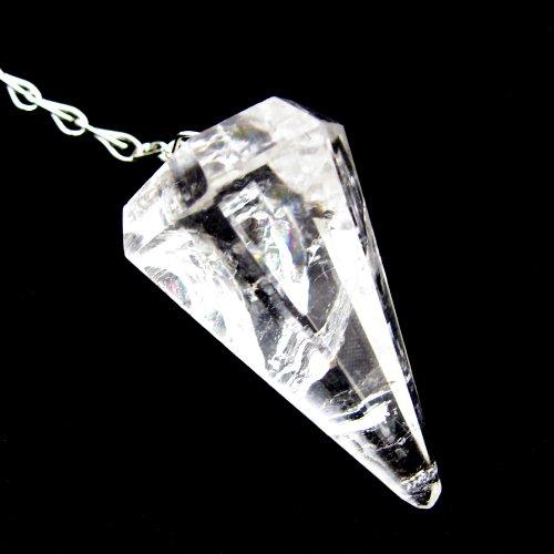 Pendel facettiert Bergkristall