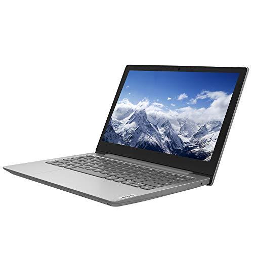 Lenovo IdeaPad 1i 11.6 Laptop - Intel Celeron N4020 Processor, 4GB RAM, 64GB Storage, Windows 10S, Platinum Grey + Office 365 Personal