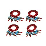 Smartbot 20pcs Mini Toggle Swithches ON/Off SPST with Pre-soldered Wires for Truck,Car,Industrial...