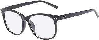 BOZEVON Women Glasses - Oval Frame Classic Vintage Clear Lenses Non Prescription Retro Oversize Lightweight Glasses Men Women Fashion Eyewear