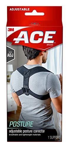 ACE Posture Corrector, Adjustable, Fits Men and Women, Helps Promote Better Posture