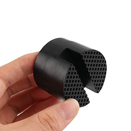 Ardentity 4 stuks krikken, rubberen blok, universeel per rubber, hydraulische krik, 3,8 x 5 cm, rubberen blok