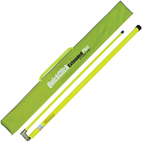 VULCAN QuickClick Extended Plus Load Height Measuring Stick (Measures Up to 20 Feet)