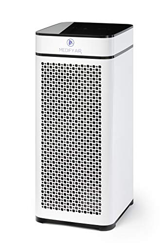 Medify Air MA-40-W V2.0 Air Purifier with H13 HEPA filter - a...