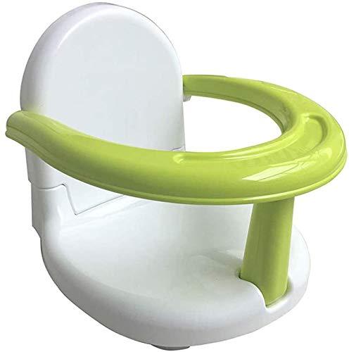 CENT Silla de Baño para Bebé Asiento de Seguridad de Bañera Plegable Soporte de Bañera Multifuncional Portátil Anillo de Baño Asiento de Ducha Antideslizante para Niños