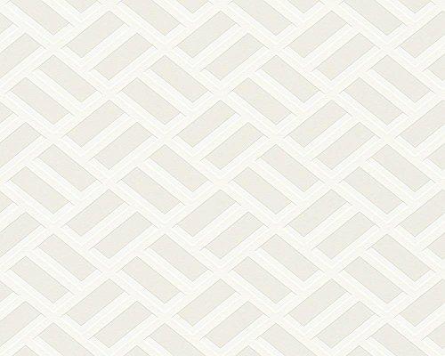 Tapete Michalsky Metropolis Grafisch creme weiß 93939-3