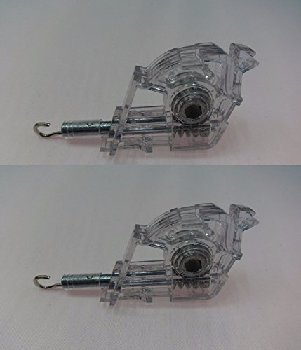 2 PACK HEAVY DUTY Low Profile Wand Tilt Mechanism for 2' Blinds HEX/HOOK